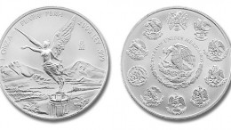 Moneda plata libertad