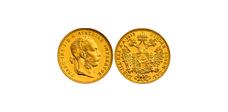 Moneda de oro 1 ducado Austria