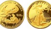 Moneda de oro american eagle eeuu americano