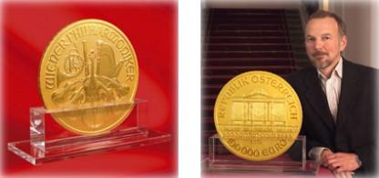 filarmonica de Viena 1000 onzas oro