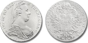 maria theresien taler plata austria