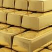 Pila de lingotes de oro