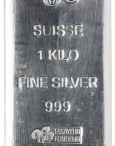 Lingote plata PAMP SUISEE 1 kilo 999