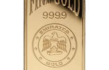 lingote oro emirates gold dmcc