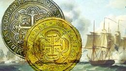 Monedas oro y plata del Nuestra Señora de las Mercedes extraidas por Odyssey