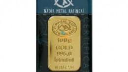lingote oro nadir metal rafinery