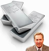 David Morgan y tres lingotes de plata