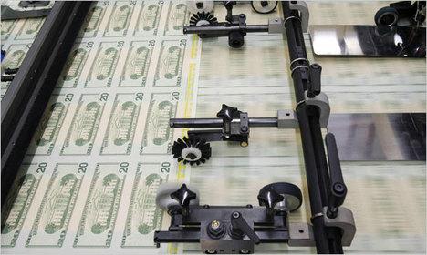 Imprenta de dinero