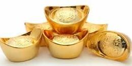 Lingotes de oro barco China