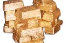 lingotes de oro Honeycomb Bars