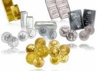 Metales preciosos lingotes y monedas