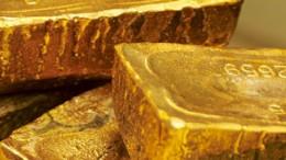 Lingotes de oro de India