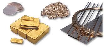 metales preciosos inversión