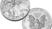 American Silver Eagle Moneda de plata