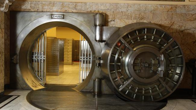 Cámara de seguridad bancaria