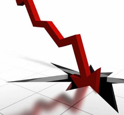 Flecha cotización colapsando
