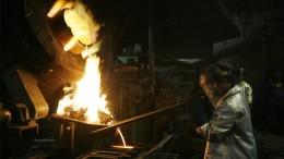 Refinería de oro en Indonesia