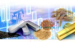 Metales preciosos y materias primas