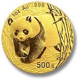Panda de oro de 2001
