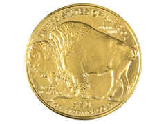 Moneda oro American gold buffalo