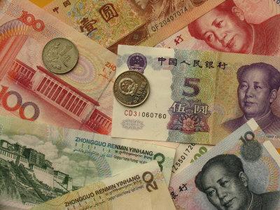 Renminbi chino y yuan monedas