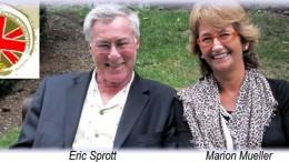 Eric Sprott y Marion Mueller
