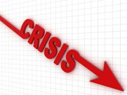 Flecha con crisis