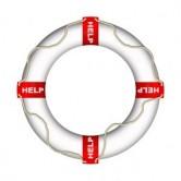 Salvavidas con letras Help