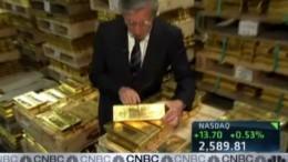 Bóveda lingotes de oro