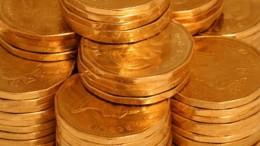 Monedas de oro de la India