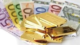 Euros y Lingotes Oro