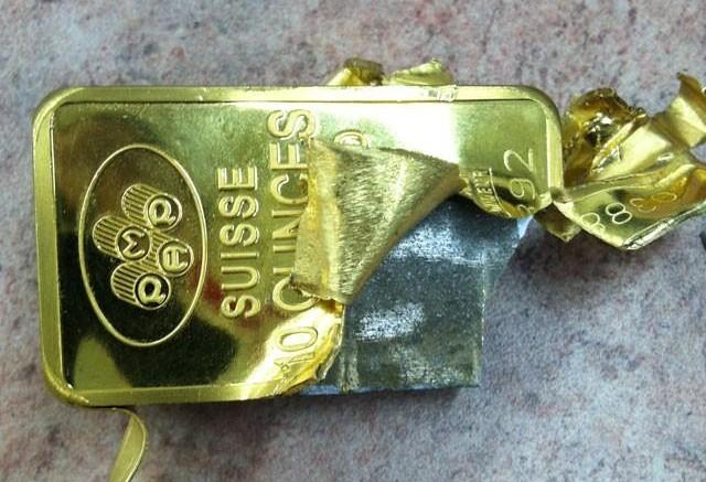 Como saber si una cadena es de oro o cobre