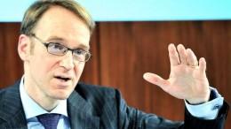 Jens Weidmann Presidente Bundesbank
