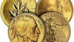 Monedas oro inversión