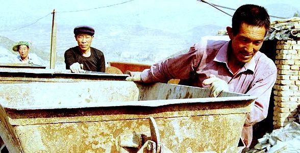Mineros chinos