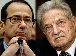 John Paulson y George Soros