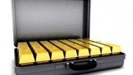 Oro Inversión en Maletin