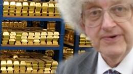 El oro almacenado en el Banco de Inglaterra