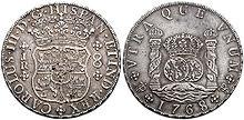 Moneda Real de a 8