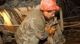 Minero chino trabajando