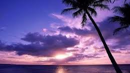 Puesta de sol en Isla