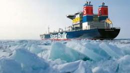 Barco en Árctico