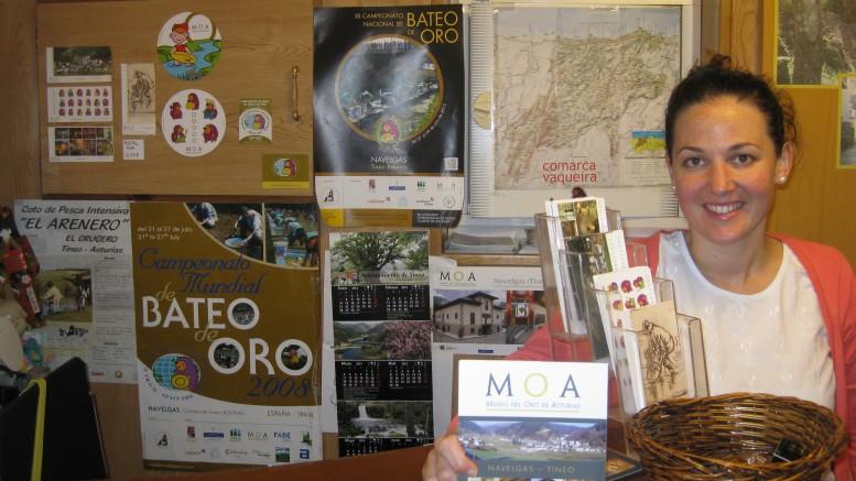 Recepción Museo de Oro Asturias MOA
