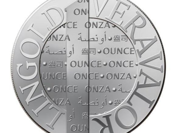Moneda de plata Vera Silver pureza 999,7%