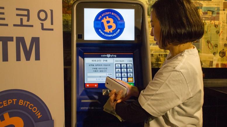 Cajero Bitcoin Corea del Sur