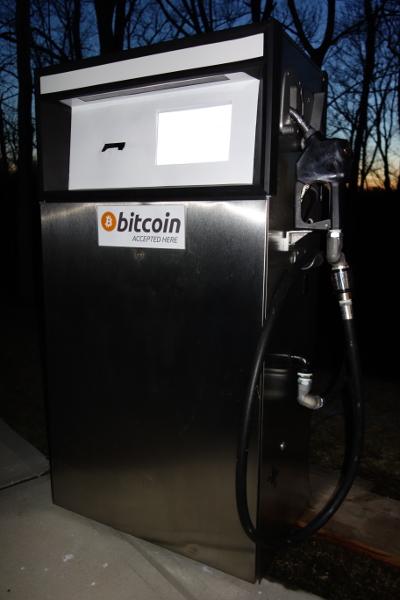 Surtidor gasolina Bitcoin