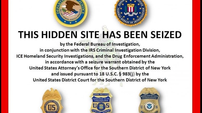 Web confiscada por FBI de Silk Road