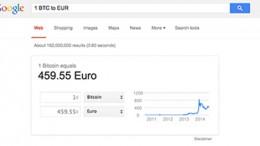 Google Bitcoin Conversor