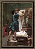 Pigmalión- un escultor griego que se enamoro de una de sus estatua Galatea