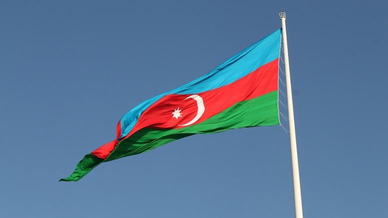 Bandera Azerbaiyán